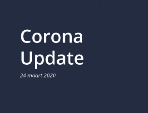 Corona update 24 maart 2020